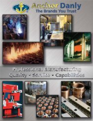 Anchor Danly Capabilities Brochure - Anchor Lamina Inc