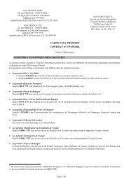 Notice VISA Premier