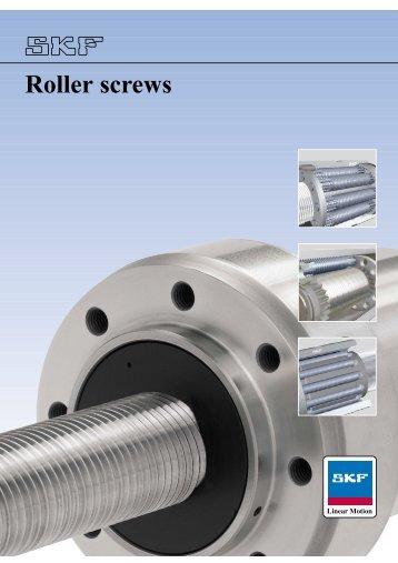 SKF Roller Screws.pdf - E. Fox (Engineers)