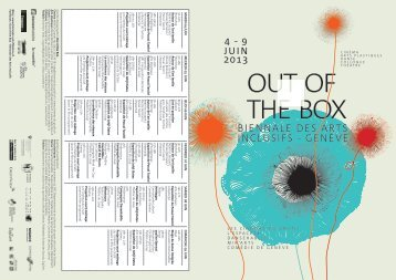 Biennale des arts inclusifs - Genève - Weebly
