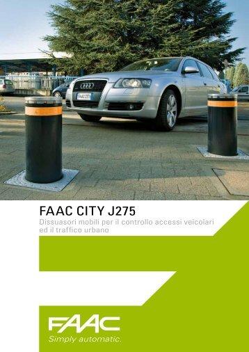 faac city J275