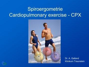 Galland_Spiroergometrie - Chiemgauer Kardiologie Tage