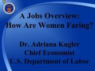 A Jobs Overview: How Are Women Faring?