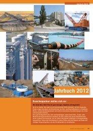 Jahrbuch 2012 Inhaltsverzeichnis - Baunetzwerk