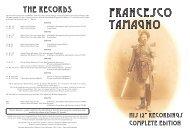 Francesco Tamagno - Historic Masters