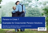 Title of the presentation Optional second line - Allianz Corporate ...