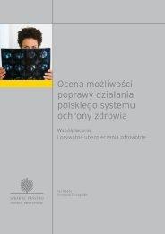 Ocena możliwości poprawy działania polskiego ... - Ernst & Young