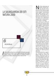 la salvaguardia dei siti natura 2000 - Consiglio Regionale della ...