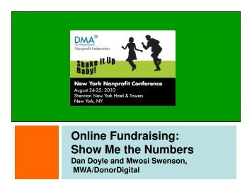 Online Fundraising: Show Me the Numbers