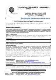 Délégation Alpes - Réseau Qualité en Recherche - CNRS