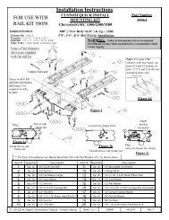 Installation Instructions - Draw-Tite