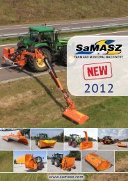 pLowS wITH INCLINED SHIELDS pSS SAfE AND pSS ... - Samasz