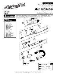 Air Scribe - Dynabrade Inc.