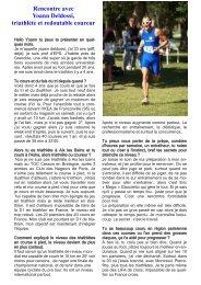 Rencontre avec Yoann Deldossi, triathlète et ... - Nicolaclusaz