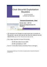 Annexe 3 - Présentation organisation TeNet en Aquitaine - CoTITA