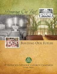 Campaign Brochure - St. Patrick Church