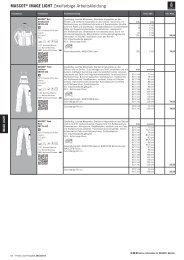 MASCOT® IMAGE LIGHT Zweifarbige Arbeitskleidung 6KFPU ...