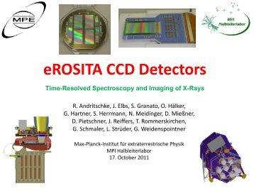 eROSITA CCD Detectors - Max-Planck-Institut für extraterrestrische ...
