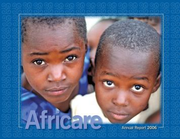 Annual Report 2006 - Africare