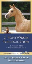 2. Ponyforum - Mennraths Auktionen