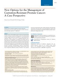 New Options for the Management of Castration-Resistant Prostate ...