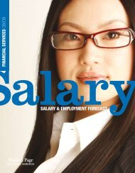 SALARY & EMPLOYMENT FORECAST - CTHR.hk