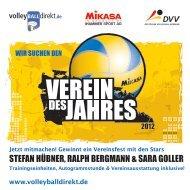 Jetzt mitmachen! Gewinnt ein Vereinsfest mit den Stars - VVRP