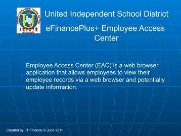 Update - United Independent School District