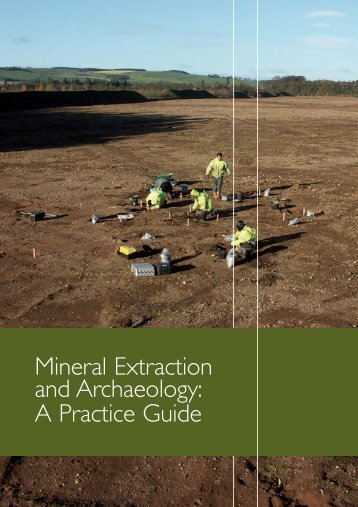 Minerals Extraction and Archaeology: A Practice Guide - CBI