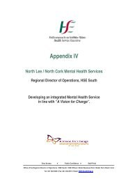 Appendix IV - Department of Health and Children