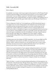 0811.RH. Reisverslag Rob Hemmes India 2008 - The Hunger Project