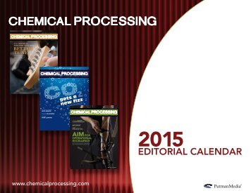 Download Chemical Processing's 2013 Editorial ... - Putman Media