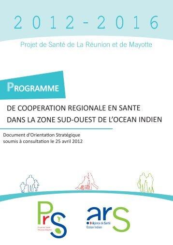 Programme de coopération régionale en santé dans la zone Sud ...
