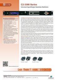 C2-3300 Series - VIDELCO