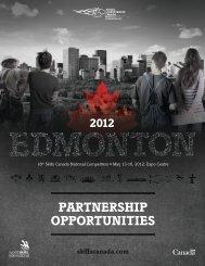 PAP Partnership Opportunities EN - Skills Canada