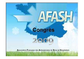 Congres de l'AFASH à Lens - COLMU