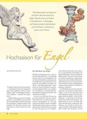 Hochsaison der Engel - Ethos