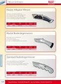 Abbrechklingen Automatikmesser 18 mm Cutter ... - Repac - Page 3
