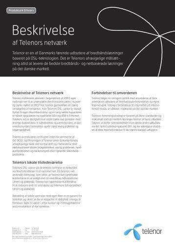Beskrivelse - Telenor