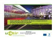 Workshop Asupra aplicatiilor dispozitivelor de stocare a ... - URTP
