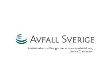 5a Jessica Christiansen - Avfall Sverige