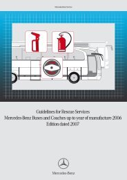 Guidelines for Rescue Services - Mercedes-Benz UK