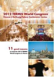 2012 TERMIS World Congress