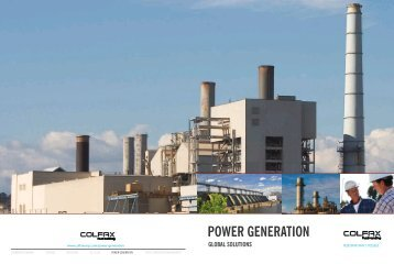 Global Solutions for Power Generation - Colfax Corporation