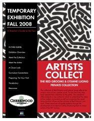 Artists Collect - Cheekwood Botanical Garden and Museum of Art