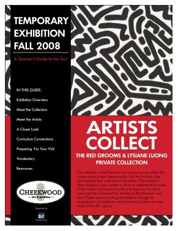 Artists Collect - Cheekwood Botanical Garden and Museum of Art