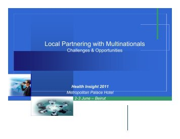 Local Partnering with Multinationals