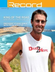 King of the road - RECORD.net.au