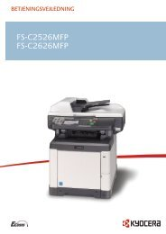 1 - KYOCERA Document Solutions