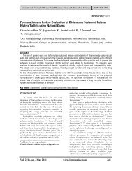 Formulation and Invitro Evaluation of Didanosine Sustained ...